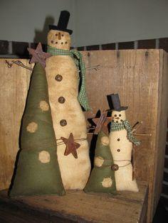 I love these snowmen I made - Nancy Castonia