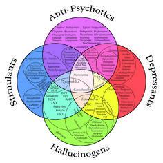 psychopharmacology venn diagram.