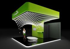 LED bulbs Expo in Russia Exhibition Display Design 2 25 Innovative 3D Exhibition Designs, Display Stands & Booth Collection