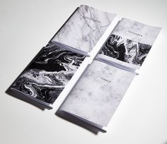 Marble notebooks notepads