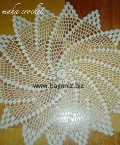 Doily Patterns, Doilies, Craft Ideas, Crafts, Farmhouse Rugs, Fish, Towels, Craft, Crochet Blocks