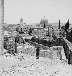 القدس، فلسطين ١٨٩٠ Jerusalem, Palestine 1890 Jerusalén, Palestina 1890