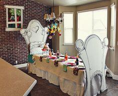 Então girls, o que acham de uma mesa dessas para comemorar o seu aniversário?