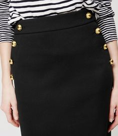Thumbnail Image of Color Swatch 6600 Image of Sailor Pencil Skirt