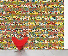 Questi sono fantastici adesivi da parete, dal sito domestic.fr