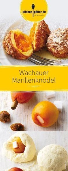 Der Klassiker unter den Knödeln, wie bei Oma: Wir bereiten die Aprikosen-Knöde… The classic among the dumplings, like Grandma's: we prepare the apricot dumplings with curd batter, so they are quickly and easily finished. Cupcake Recipes, Pie Recipes, Dessert Recipes, Pretzel Desserts, No Bake Desserts, Homemade Flour Tortillas, Nutella Cookies, Nutella Recipes, Albondigas