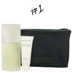 Gift Set # 1 includes:  4.2 oz Eau De Toilette Spray + 2.5 oz Shower Gel + Toiletry Bag HURRY only 1 left.    Gift Set # 2 includes:4.2 oz Eau De Toilette Spray + 3.4 oz After Shave Balm    L'eau D'issey (issey Miyake) Cologne by Issey Miyake, Launched by the design house of issey miyake in 1994, l'eau d'issey is classified as a refined, aquatic fragrance . This masculine scent possesses a blend of citrus and spice combined with lower notes of musk, amber and woods. It is recommended for…