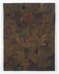 """Abraxas"" Alcohol Wood Stain on Interlocking Plywood"