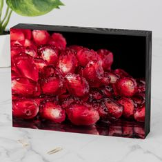Pomegranate Art, Pomegranates, Box Signs, Custom Boxes, Accent Pieces, Wooden Boxes, Wooden Signs, Cleaning Wipes, Fall Decor
