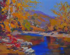 Landscape Print  from Landscape Painting  by Yuri Pysar by Pysar, $88.00