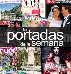 Las #portadas de la semana #Revistas Art Pop, Reusable Tote Bags, Magazine Covers, Princesses, Wedding, Pop Art