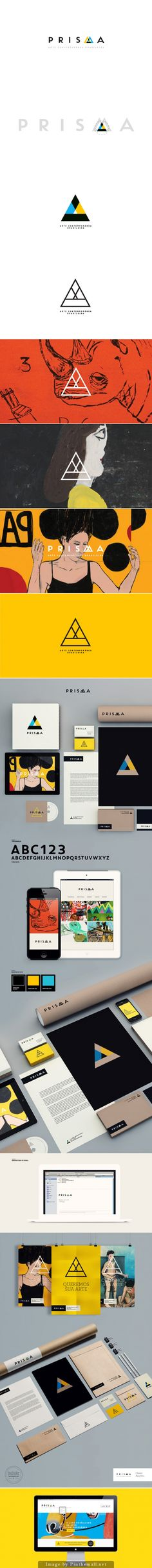 Prisma by Isabela Rodrigues #thevintees #graphicdesign #identity