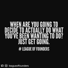 Let's hustle founders!