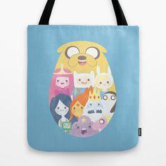 Adventure Tote Bag by Eva Puyal - $22.00