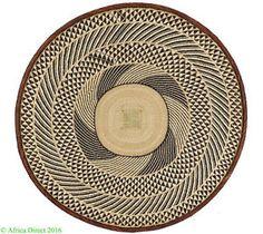 Tonga Binga Basket Zimbabwe African Art 34 Inch SALE WAS $395  | eBay