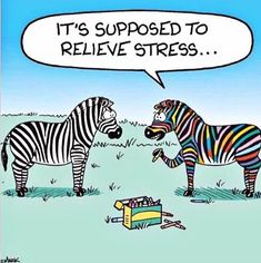 What is stress? Stress is the mindbody's way of reacting to a challenge. Things that can cause stress are known as stressors. Funny Cartoons, Funny Comics, Funny Jokes, Hilarious, Cartoon Humor, Memes Humor, Psychology Jokes, Therapy Humor, Humor Grafico