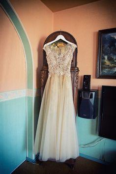 Piękna suknia ślubna - LAURELL E delikatna i niepowtarzalna