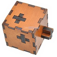 Plywood Wooden Swiss Box Puzzle Game Toy Children Intelligence Toy Educational Toy