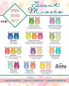 Do you like to mix scents? New for the Scentsy Spring/Summer catalog! mrslwilliams.scen...