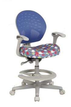 VIVA OFFICE Childrens Desk Chair with Adjustable HeightDepth and Foot Rest >>> You can find more details by visiting the image link-affiliate link. Bush Office Furniture, Commercial Office Furniture, Ikea Chair, Desk Chairs, Chairs For Bedroom Teen, Childrens Desk And Chair, Best Ergonomic Chair, Cool Office Desk