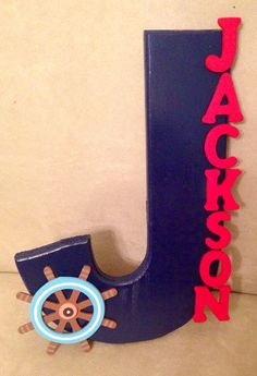 Custom Nautical Nursery Decor by UniqueDoorDecor on Etsy, $25.00