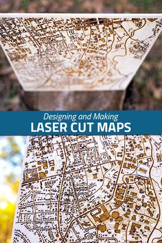 One of my biggest motivations in getting a laser cutter was to create custom maps. Turns out the actual laser part wasn't the hardest to figure out. It was creating a digital file. Laser Cutter Projects, Cnc Projects, Photo Projects, Woodworking Projects, Wood Laser Ideas, Laser Cut Wood, Laser Cutting, Laser Cut Lamps, Glow Crafts