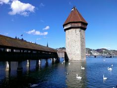Remembering a trip my mom, my daughter and I made to Lucerne, Switzerland.