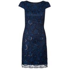Luxe jurk met pailletten Blauw 139.95 €