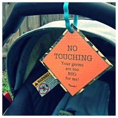 Car seat tag