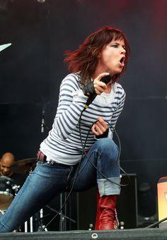 """""""Rock Im Park 2009"""" Festival - Juliette Lewis"""