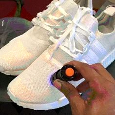 Sneakers change color in the light
