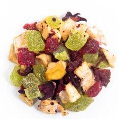 Fresa Kiwi - Origen: Mezcla de la casa.Ingredientes: Kiwi, fresa, manzana, jamaica y escaramujo. Perfecto para preparar caliente o frío.