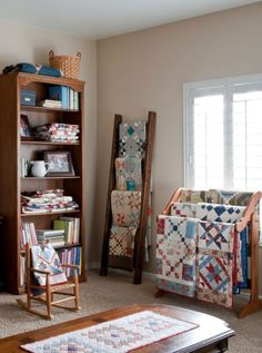 On a daily basis, a love of family andof quilts intertwines for quilt  designer andblogger SherriMcConnell.