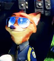 I love how he winks at judy when she references him