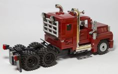 Lego Cars, Lego Truck, Legos, Trailers, Amazing Lego Creations, Lego Design, Lego Models, Lego Projects, Custom Lego
