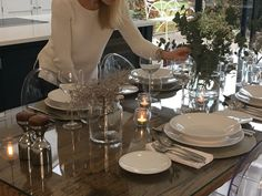You have asked, I have answered! Q & A blog Post - Just A Little Build Kitchen Diner Extension, Open Plan Kitchen, Dining Decor, Dining Tables, Work Triangle, Polished Concrete, Just A Little, This Or That Questions, House Styles