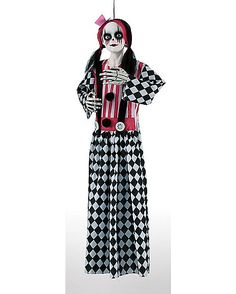 3 Ft Hanging Clown Doll - Decorations - Spirithalloween.com