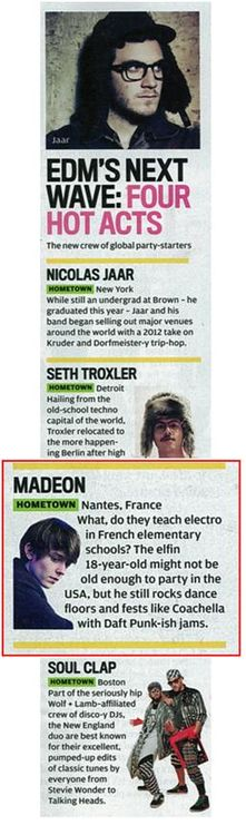 Madeon in Rolling Stone