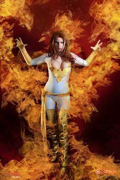 White Phoenix Cosplay by AZ Powergirl