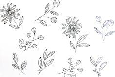 Simple botanical pattern