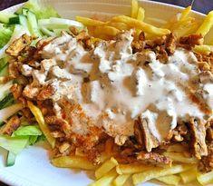 Pizza Kebab, Taco Pizza, Love Food, A Food, Food And Drink, Kebab Wrap, Swedish Recipes, Tapas, Dinner Recipes