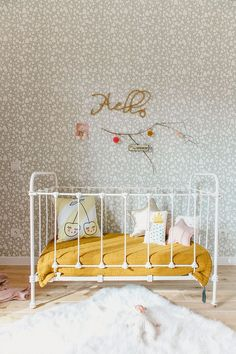 Babykamer met mostergeel accent | Estelle Williot