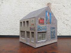 Un café-bar (bar) HO (1:87)