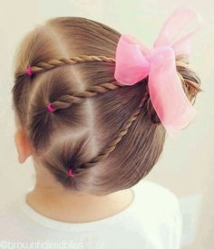 Easy Toddlers Hairstyle Kinderfrisuren 40 Cool Hairstyles for Little Girls on Any Occasion Easy Todd Easy Toddler Hairstyles, Baby Girl Hairstyles, Trendy Hairstyles, Short Haircuts, Teenage Hairstyles, Girl Haircuts, Wedding Hairstyles, Hairstyles Haircuts, Natural Hairstyles