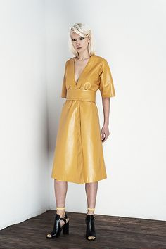 NOT JUST A LABEL (NJAL) is the world's leading designer platform for showcasing and nurturing today's pioneers in contemporary fashion. Fall Winter 2014, Jealousy, Contemporary Fashion, Real Women, Editorial Fashion, Wrap Dress, Coat, How To Wear, Stuff To Buy