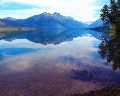 Lake McDonald Reflection - Photography by David Grimes