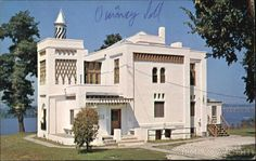 """Quincy Illinois has the only castle on the Mississippi. It was built in 1900 and named """"Villa Katherine"""""""