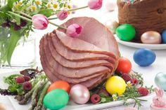 Ham With Brown Sugar Glaze Recipe Brown Sugar Glaze, Ham Bone, Glaze Recipe, Meat Chickens, Lent, Pork Recipes, Main Dishes, Goodies