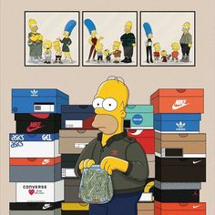 _______________________________________________________ #simpsons #bart #millhouse #supreme #ultraboost #hypebeast #highsnob #supremenyc #vetements #hypebae #streetwear #ootd #streetwearfashion #jordanbrand #threestripes #swoosh #nike #adidas #hypetrack #hypefeet #shoegame #sneakerrotation #lifeofpablo #yeezy #yeezy350boost #reseller by lifewithoutlaundry