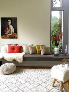 love the colors and the low relaxed furniture